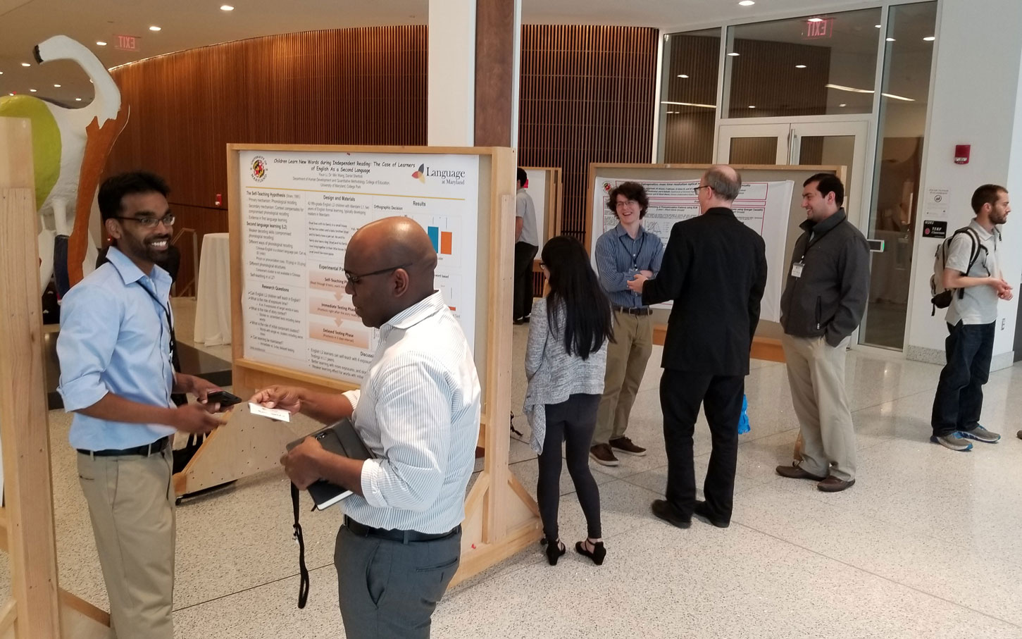 Graduate student poster session at BBI-Kavli Day on May 1, 2019